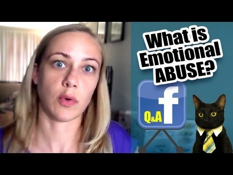 What is emotional abuse?? Facebook Friday!!!