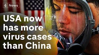 U.S.A has almost 100,000 virus cases - more than China - what next?