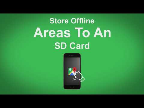 Google Maps   Store Offline Places To An SD Card