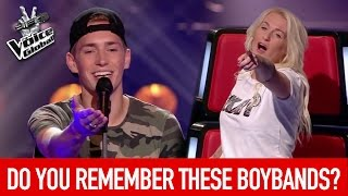 BEST BOYBAND songs on The Voice | The Voice Global
