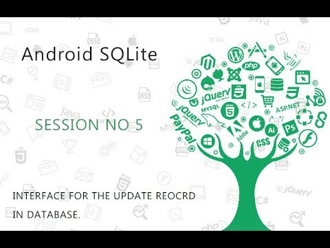 Android SQLite Database Tutorial 5 # Update values in SQLite Database table using Android   YouTube