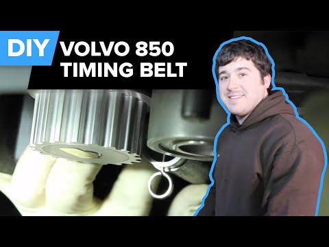 Volvo Timing Belt & Water Pump Replacement (Serpentine Belt, Idler, Tensioner - 850 Turbo) FCP Euro