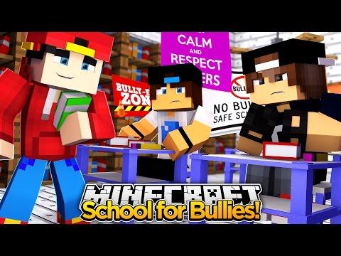 Minecraft Adventure - JACK JOINS THE BULLY SCHOOL!!!