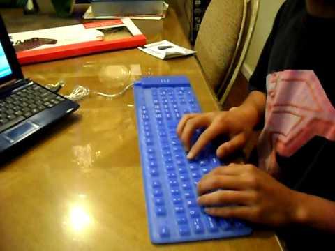 Dekcell USB Flexible Full Sized Keyboard