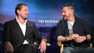 The Revenant: DiCaprio & Hardy / smoked chocolate chips - Scott Carty