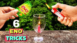 6 Amazing ENO Tricks || Easy Science Experiments With ENO