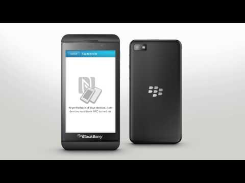 Add & Edit BBM Contacts: BlackBerry Z10 - Official How To Demo