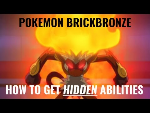 Pokemon Brickbronze:  How to get HIDDEN Abilities