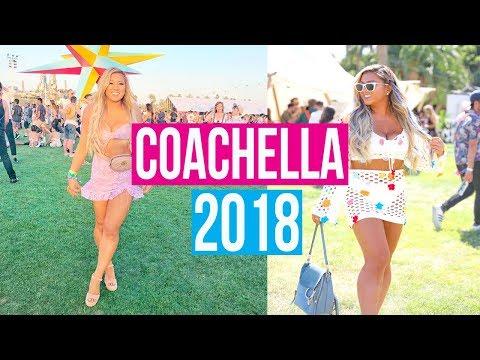 PARTYING AT COACHELLA!!! 2018