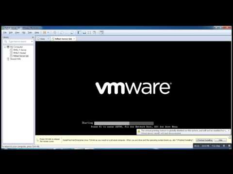 How to Install Red Hat Enterprise Linux 7 in VMware 12  Workstation Step By Step