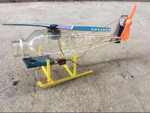 How to make Electric helicopter motor