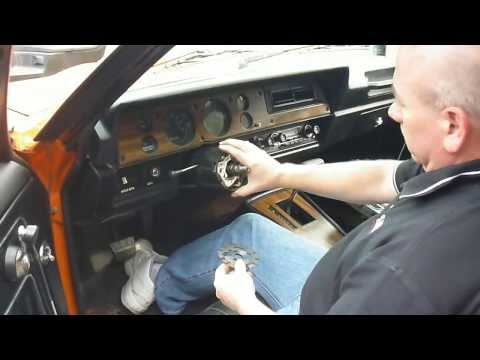 Turn Signal Switch Repacement in 70's GM Vehicle Part 1 of 3