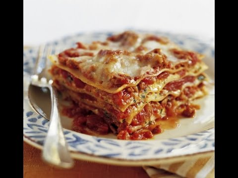 LASAGNA WITHOUT RICOTTA CHEESE - RECIPE (Meat Lasagna) D.I.Y
