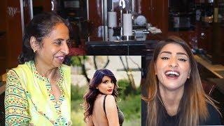 My Mom Reacts to my Instagram/Facebook Pictures!