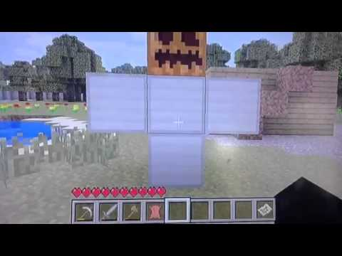 Minecraft (iron golem doesn't work) Xbox 360