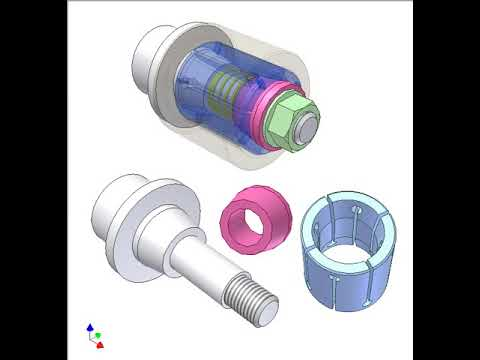 Screw collet clamping 3