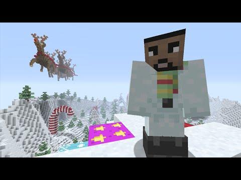 Minecraft (Xbox 360) - Christmas Wonderland - Hunger Games - Round 2