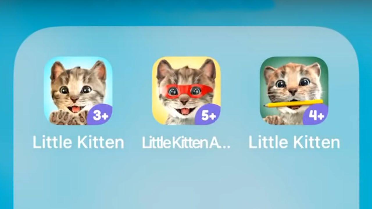 Little Kitten My Favorite Cat,Adventures & Friends - Best App for Kids