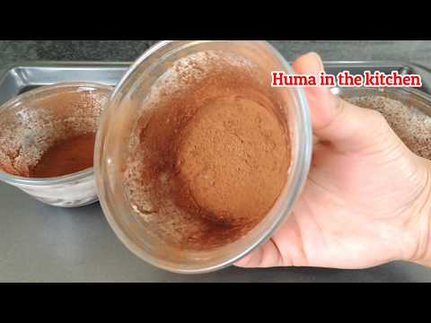 Molten Chocolate Lava Cakes Recipe - How To Make Lava Cakeby (HUMA IN THE KITCHEN)