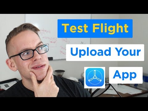 TestFlight - How to Upload a New iPhone App to the App Store in Xcode 9 (1/2)