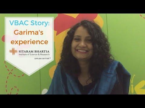 VBAC Story: Garima's experience