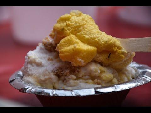 Daulat Ki Chaat - A sweet dessert Street Food