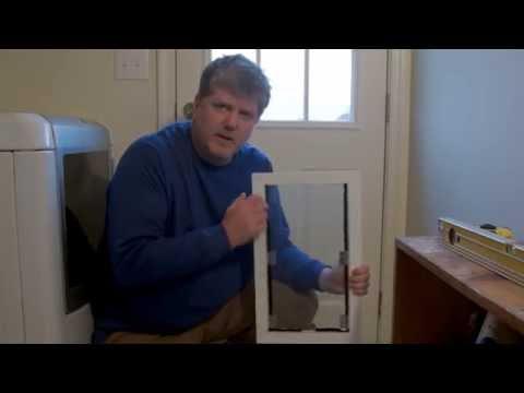 How To Install Dog Door on Exterior Door