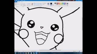 Speed Art Full Pikachu! :D