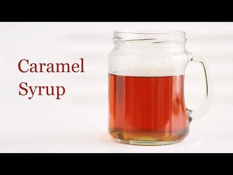 How to Make Caramel Syrup 카라멜 시럽 만들기 - 한글자막