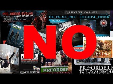 STOP Pre-Ordering Games! (Nerd Rage)