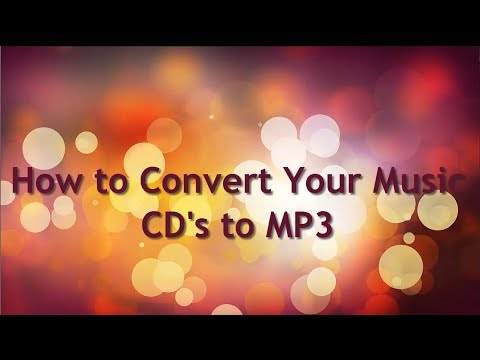 How to Convert Music CD to MP3 Free