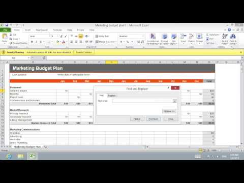 How to Find Excel 2010 external Link
