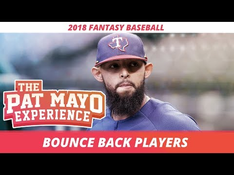 2018 Fantasy Baseball Rankings: Bounce Back Hitters and Pitchers