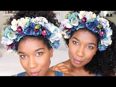 DIY Chic Flower Crown Headband | No Sew - Naptural85