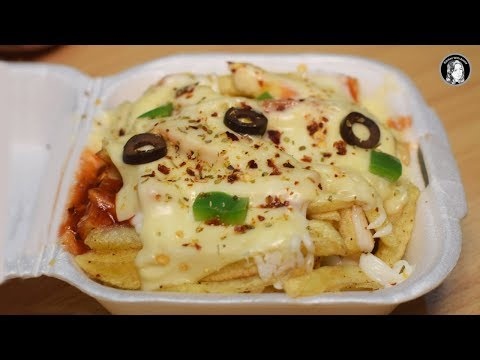 Restaurant Style Pizza Fries - Special Pizza French Fries Recipe - Kitchen With Amna
