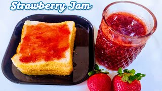 HomeMade Strawberry Jam | 2 Ingredients | No preservative No Chemicals | DaalPani