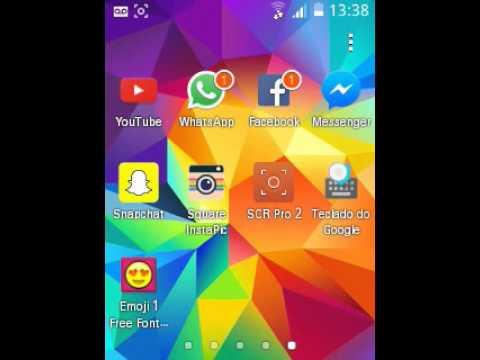 Emojis no Galaxy Pocket 2