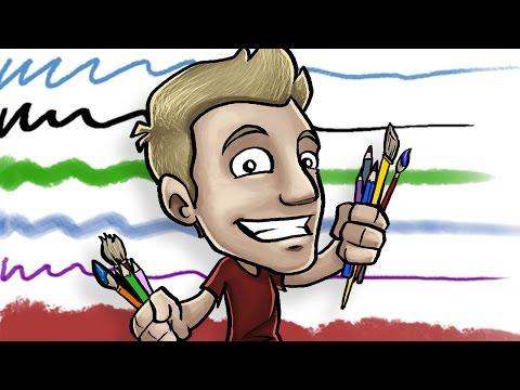 Jazza's Signature Photoshop Brushes!