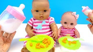 Download БОЛЬШОЙ И МАЛЕНЬКИЙ Пупсики Играем в Куклы #Какмама Детский Канал Video