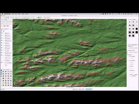 101 Ideas for Minecraft Learners [39] Minecraft Maps from Satellite Topographic Data