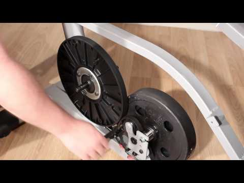 Replacing the Drive Belt - Exercise Bike - Frame Style C
