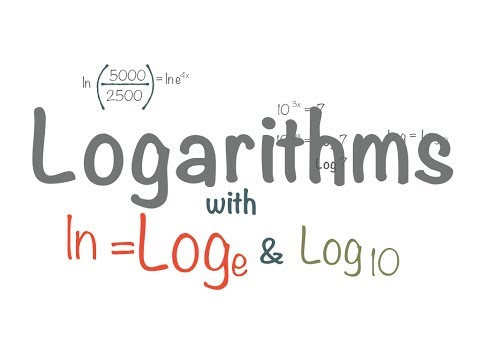 Natural Log (ln) and Log base 10 Cancellation Ex.