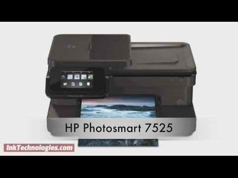 HP Photosmart 7525 Instructional Video