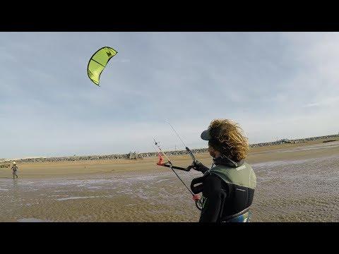 eola | Kitesurfing on the South coast in the UK
