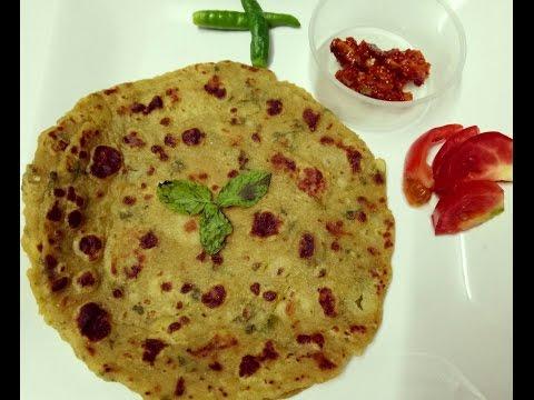 How To Make No Stuffed Aloo Paratha/ Indian Aloo Paratha