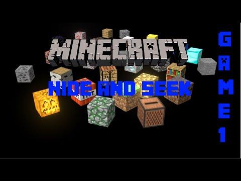 Minecraft   HIDE N SEEK [Game 1]
