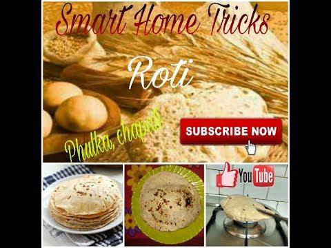 How to make soft Roti n dough - flat Indian bread - chapati - phulka
