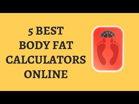 5 Body Fat Calculators Online - Calculate Body Fat Percentage Online