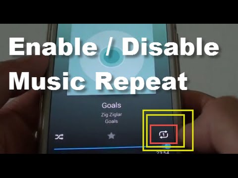 Samsung Galaxy S5: How to Enable / Disable Music Repeat
