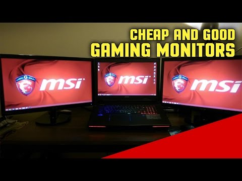 Best Cheap FPS Gaming Monitors with Low Input Lag